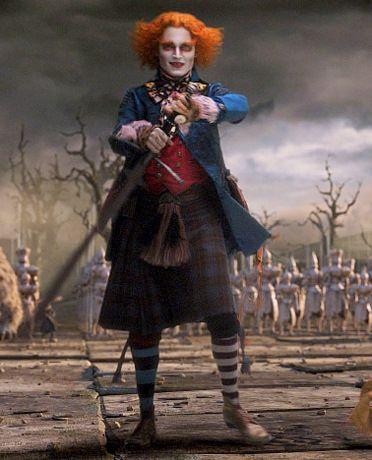 Johnny Depp.....in Alice in Wonderland