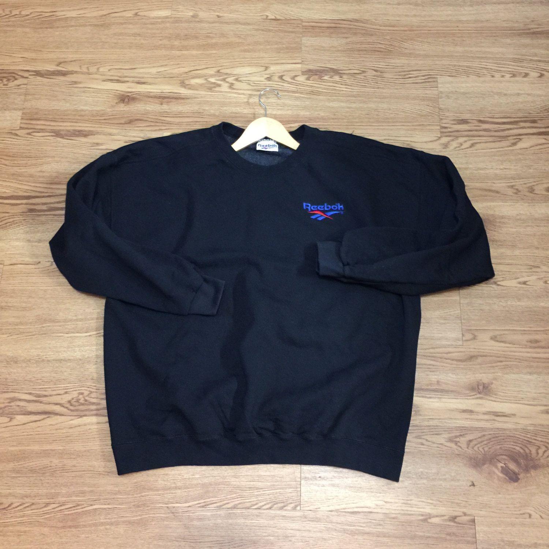 0eb6cacfdd2f Buy reebok vintage sweatshirt womens black   OFF72% Discounted