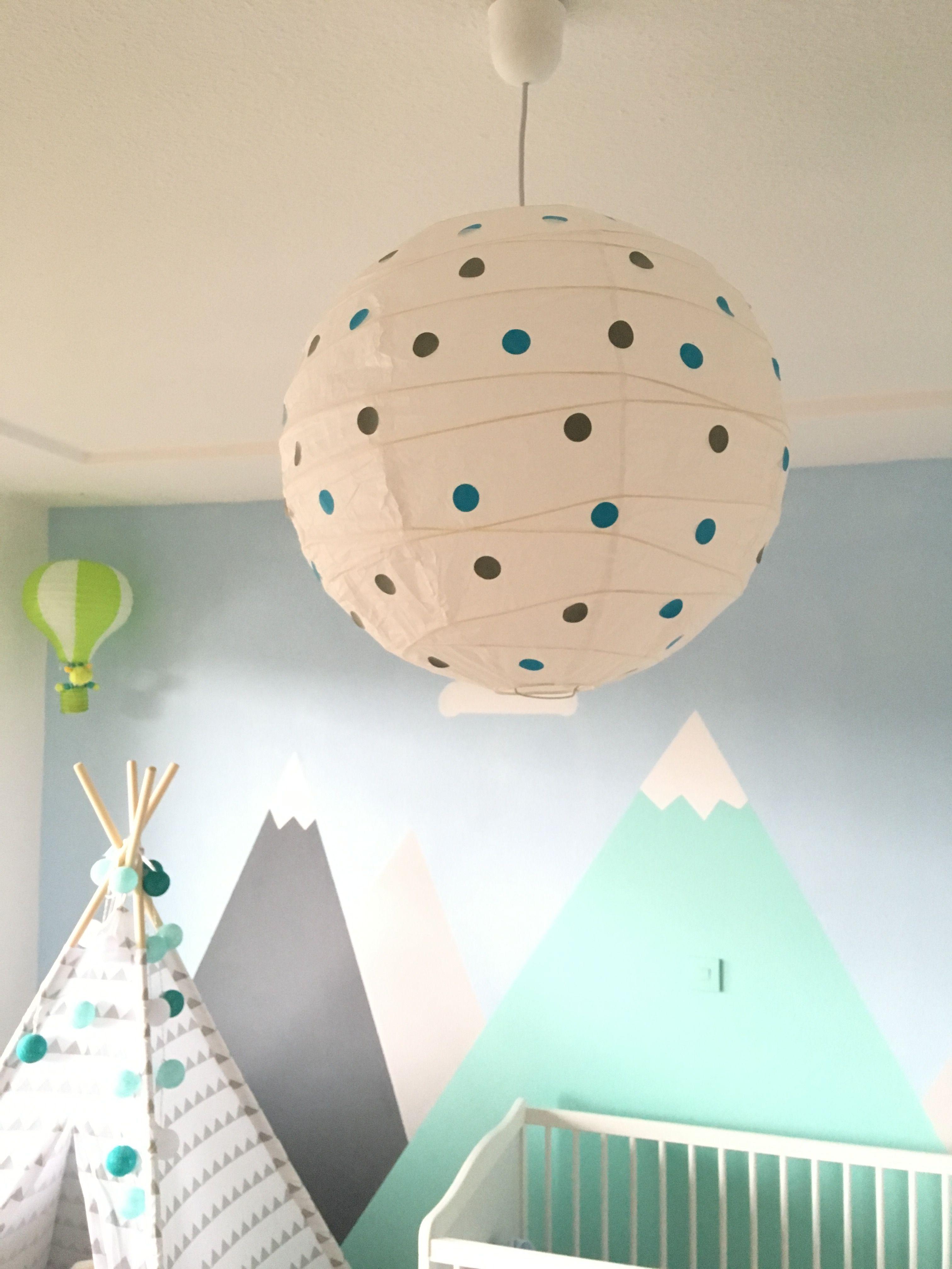 Lampe Kinderzimmer Idee Kinderzimmerlampe Deckenlampe Punkte