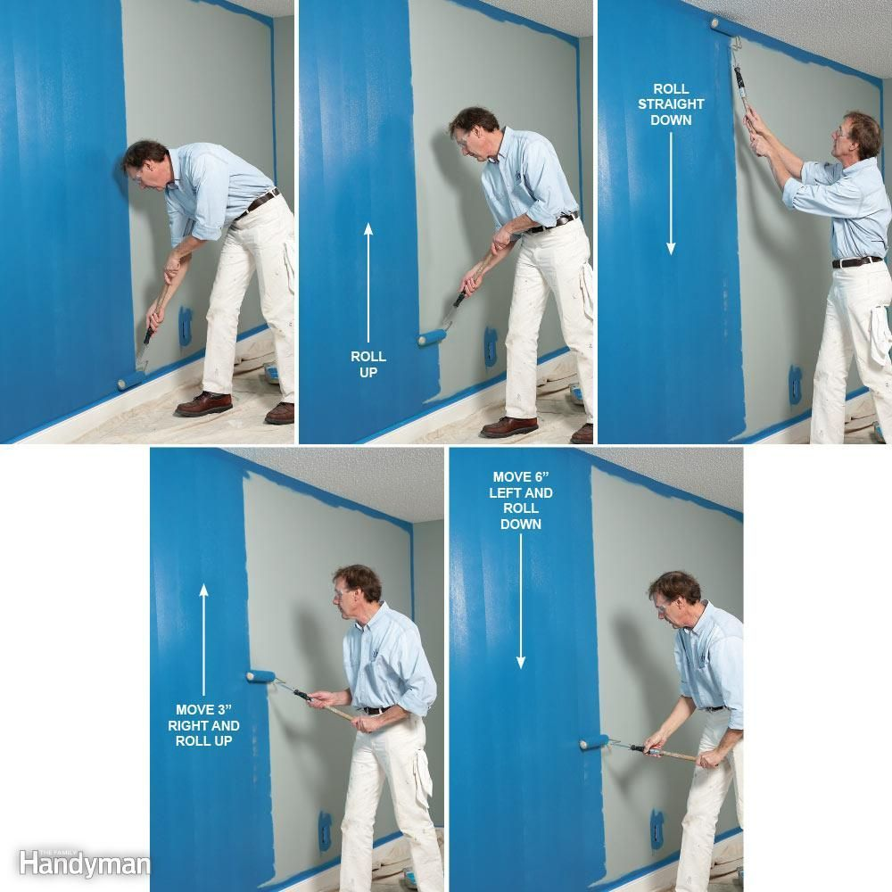 Everyone Who S Painted Has A Personal Technique For Rolling Walls Bill Honed His Technique Over Three Decades It Room Paint House Painting Tips Painting Tips