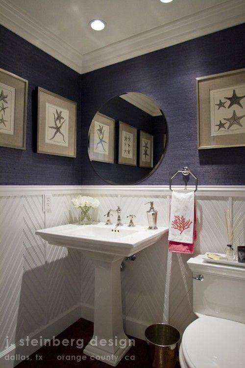 Diagonal Wainscoting  Bathrooms  Pinterest  Bath Guest Bath Pleasing Wainscoting Bathroom Design Ideas