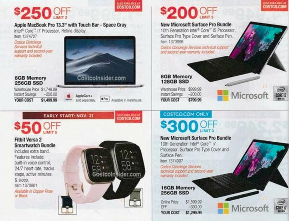 Costco Black Friday 2020 Deals Costco Sales Offers Disc Discount On Tv Ipad Laptop Watches Etc Black Friday Laptop Deals Samsung Galaxy Smartphone Black Friday Laptop