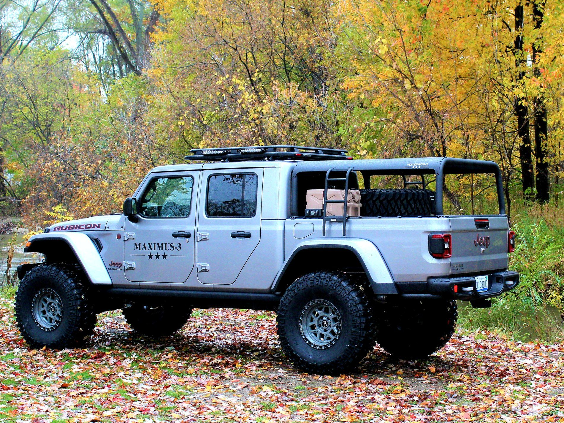 Maximus3 trifecta of rack solutions for the Jeep