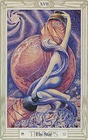 La Estrella Del Mazo De Crowley Arte De Carta Tarot Tarot Cartas Tarot
