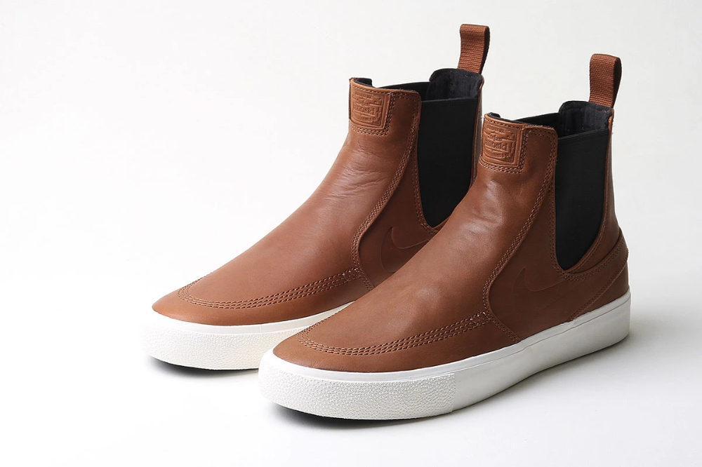 Zoom Janoski Slip Mid Rm Premier Chelsea Boots Heel Nike Zoom Janoski Shoe Boots