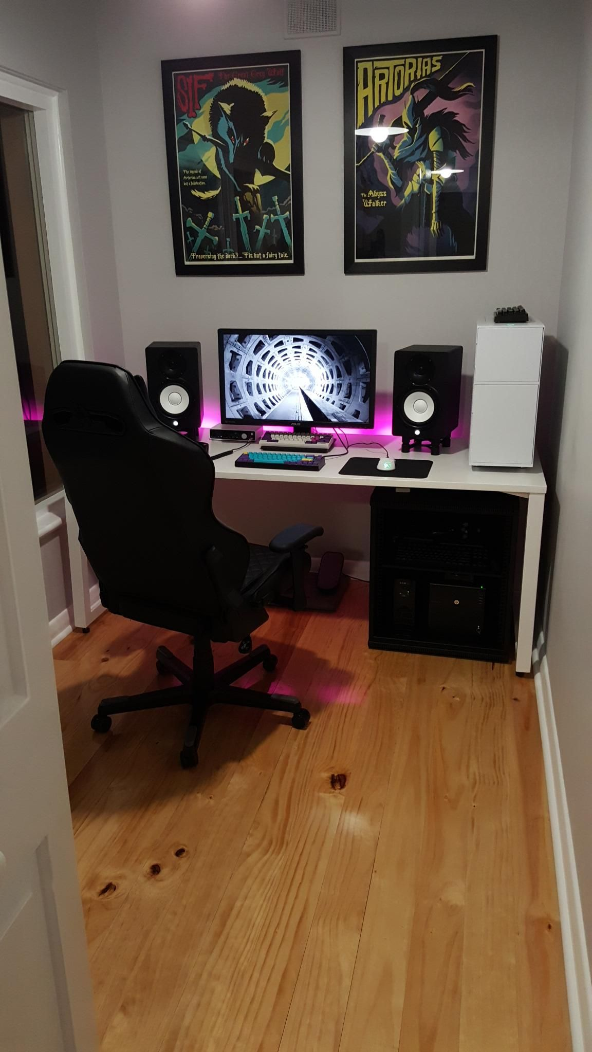 small bedroom setup battlestation 2016 in 2018 battlestation room gamer 13270