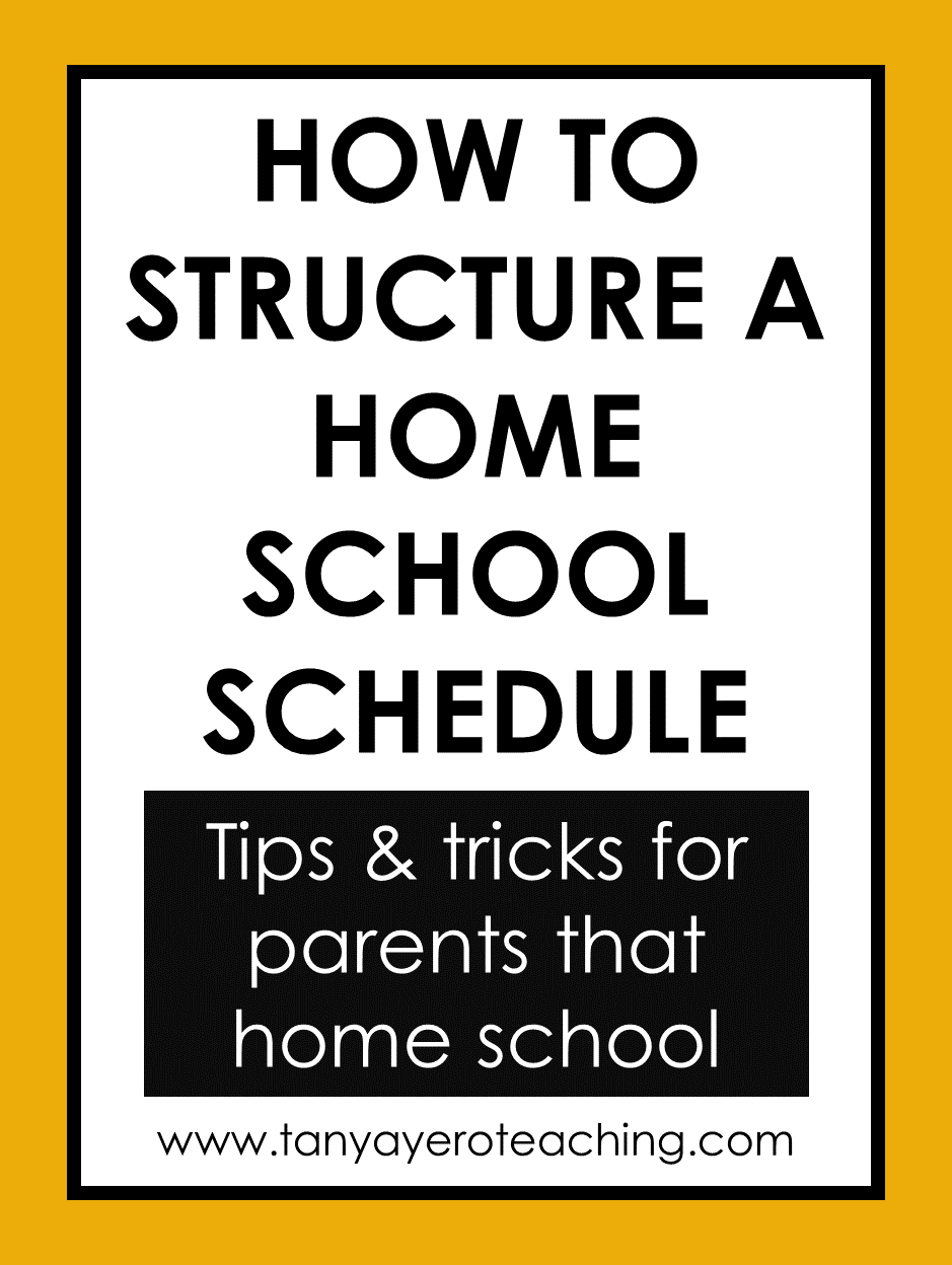 Photo of How to Structure a Home School Day