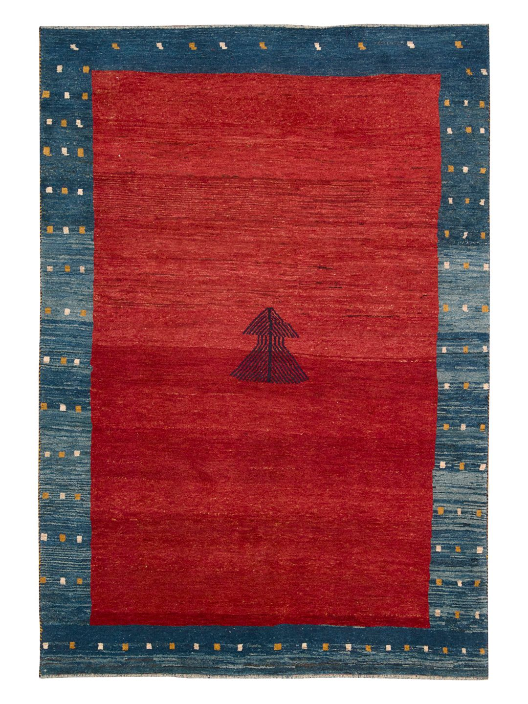 "Authentic Gabbeh Hand-Knotted Rug (8'6""x5'9"") by Nourison at Gilt"