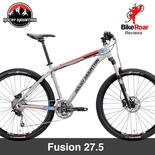 5163f84f9a1 Editors Review: #RockyMountain Fusion 27.5. Stable geometry, Reliable  components. We look