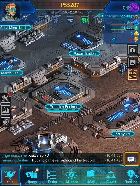 Galaxy At War Online app review: a space combat strategy game - appPicker