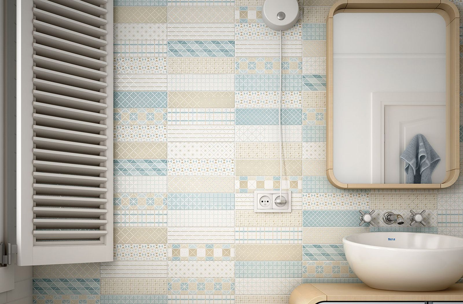 Decorative Wall Tiles For Bathroom The Ideal Country Bathroomdecorative Wall Tile Dunas Mantille