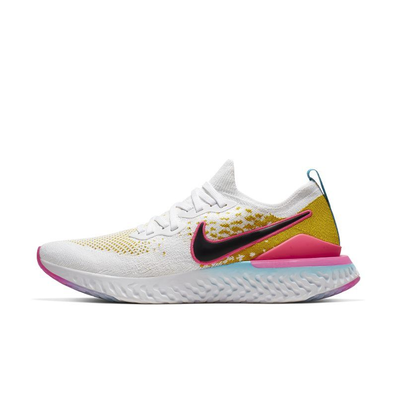 White Men Nike Epic React Flyknit 2 Shoes, Abs Sports | ID