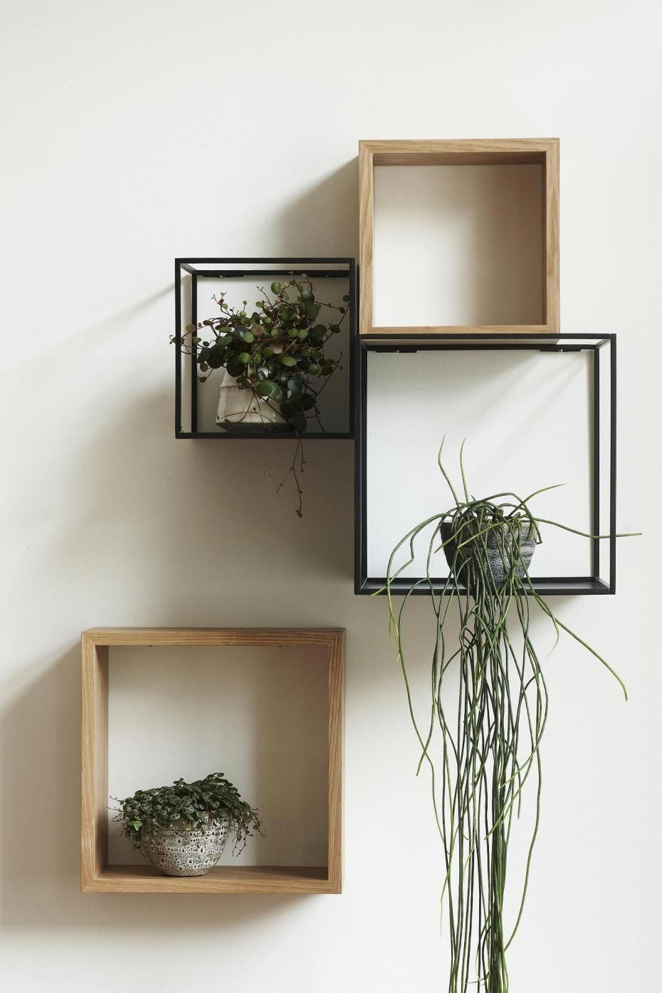 Cube déco et rangement #DécorationCuisine #wanddekowohnzimmer Cube déco et rangement #DécorationCuisine