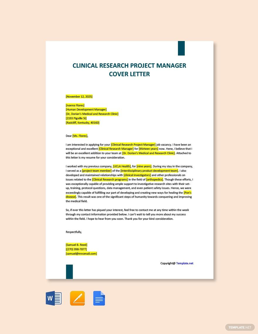 41+ Executive cover letter template word ideas