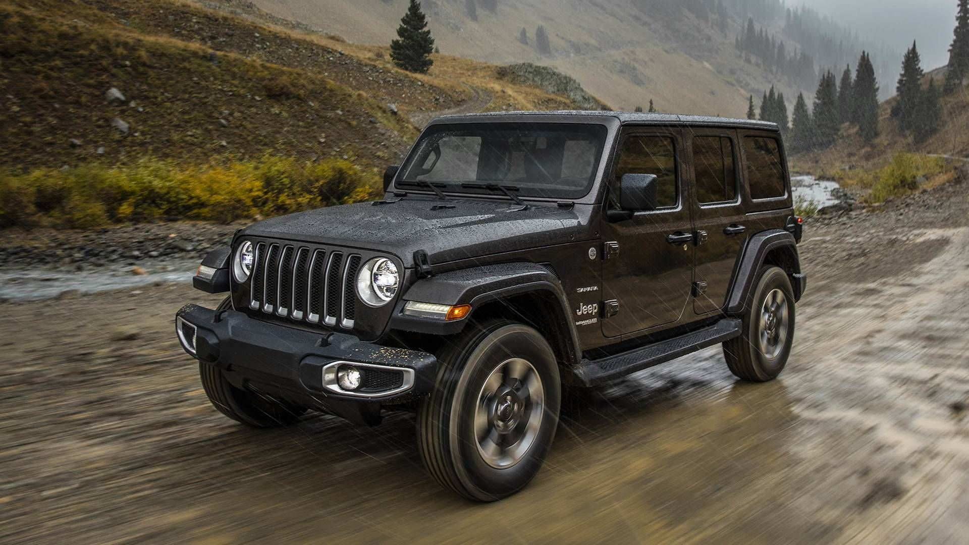 2018 Black Jeep Wrangler Jeep Wrangler Unlimited New Jeep