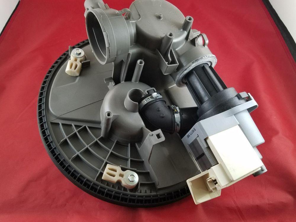 Whirlpool Maytag Kenmore Dishwasher Pump Motor Assembly W10837026 Appliance Whirlpoolmaytag Whirlpool Pumps Appliances