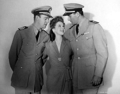 John Wayne, Susan Hayward & Dennis O'Keefe
