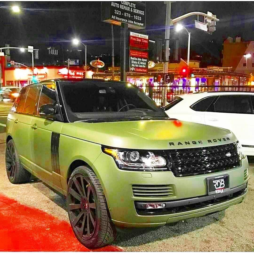 Range Rover Mobil Mewah Mobil Impian Mobil