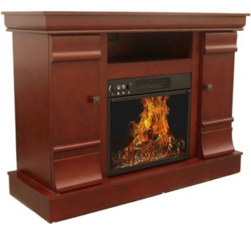 Fireplace mantel and 60 tv stand