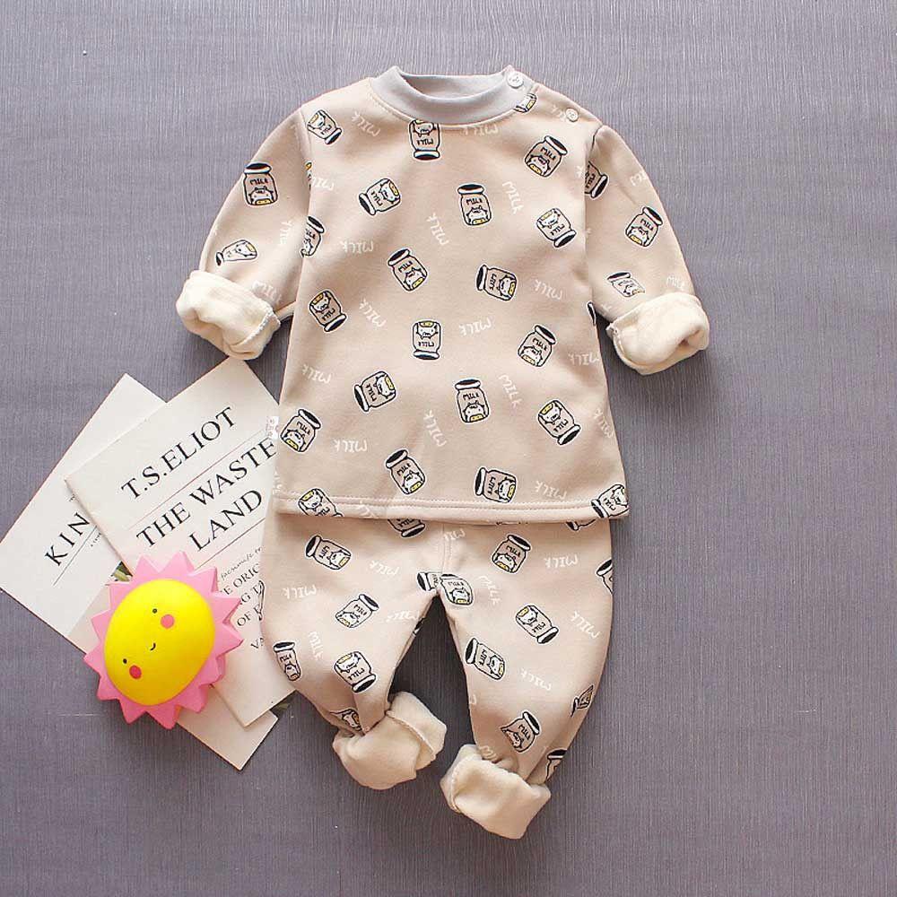 5a33af8c4 MUQGEW Nice Clothes Toddler Boys Girl Kids Printed Clothes Long Sleeve T- Shirt+Pants