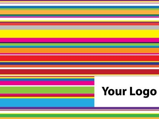 Free Colored Neon Light Horizontal Stripes Background Vector
