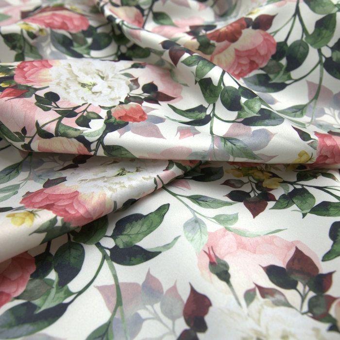 23d5baf7b Tecido cetim italiano floral off white - Maximus Tecidos | Loja Online