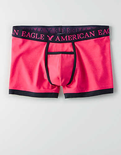 """9 Pairs of New American Eagle 3/"""" Inseam Trunks Boxer Briefs,--Size XL"""
