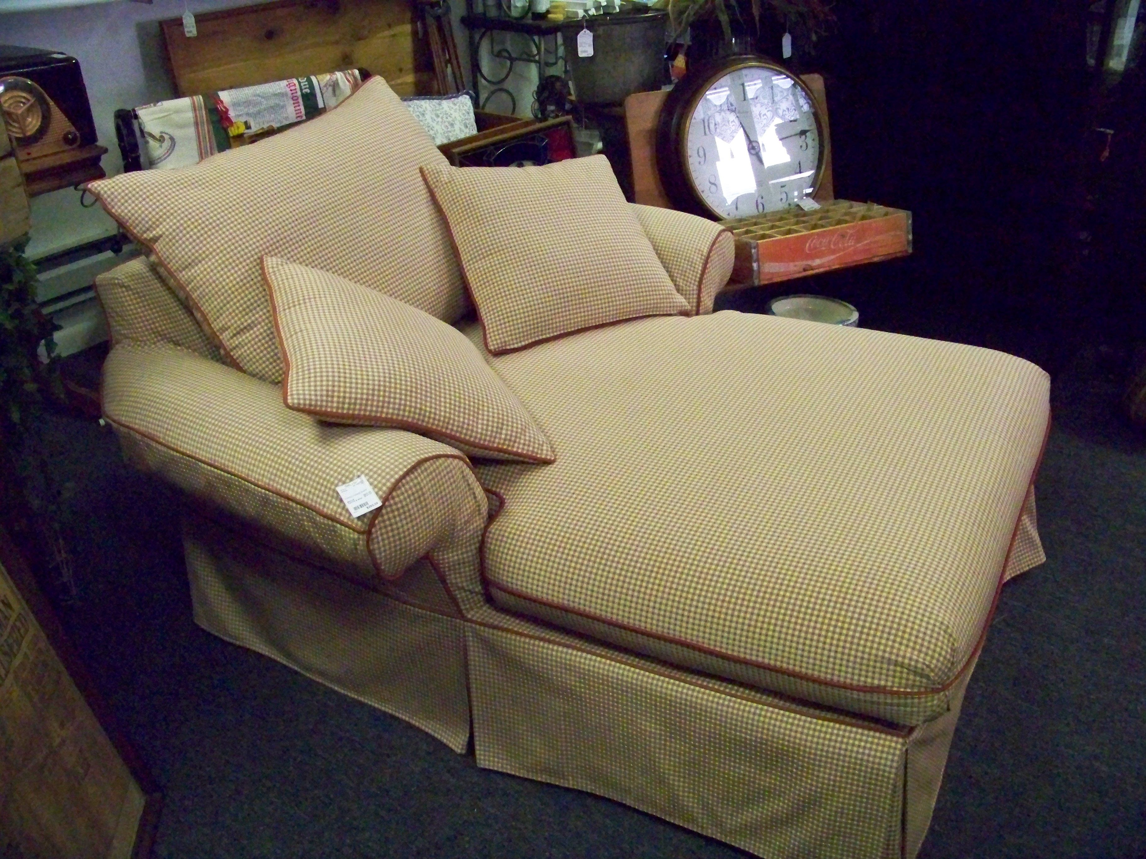 Sold chase lounge chair consignment booknook