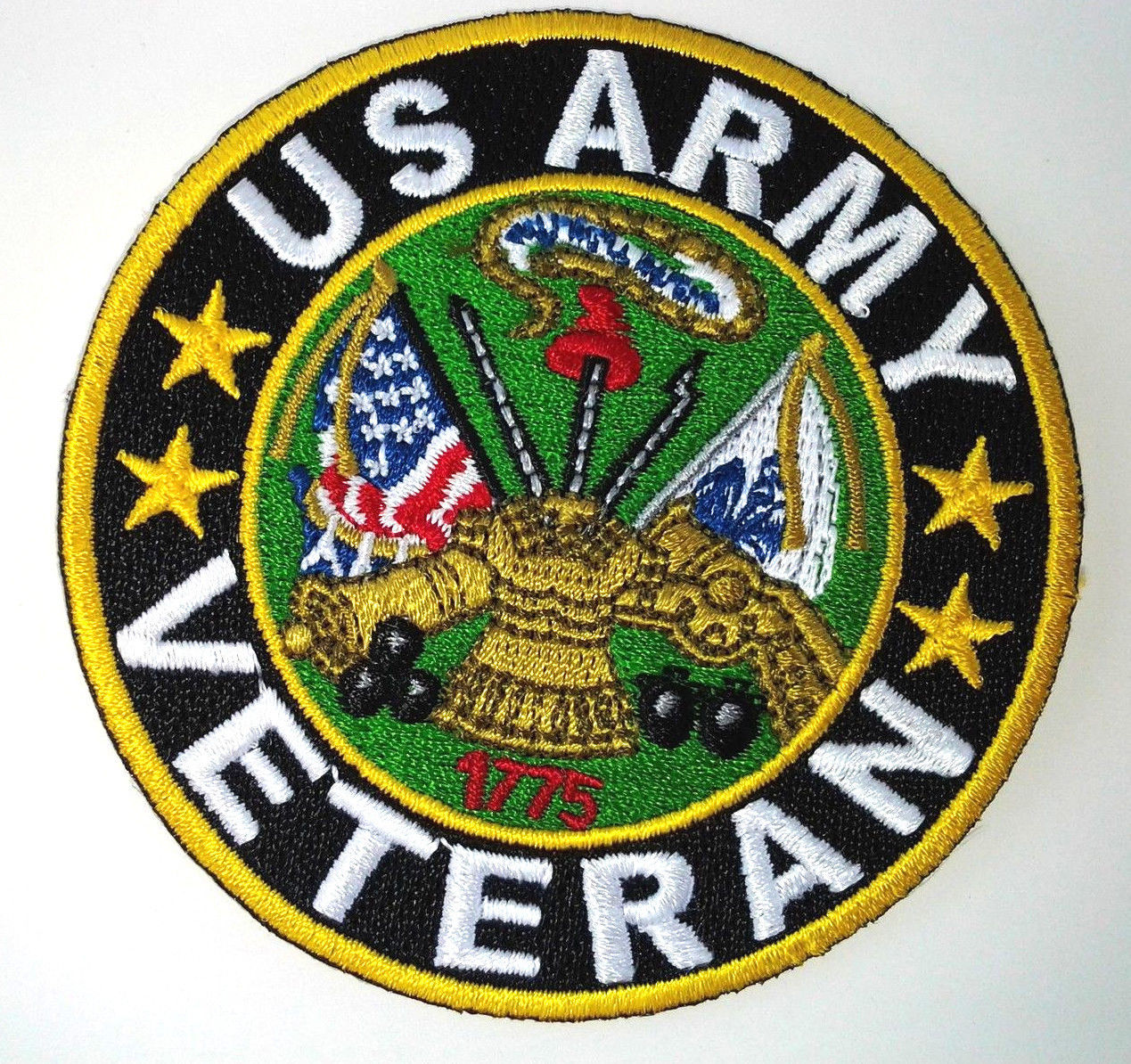 United States Army Insignia 10 Rocker Back Patch