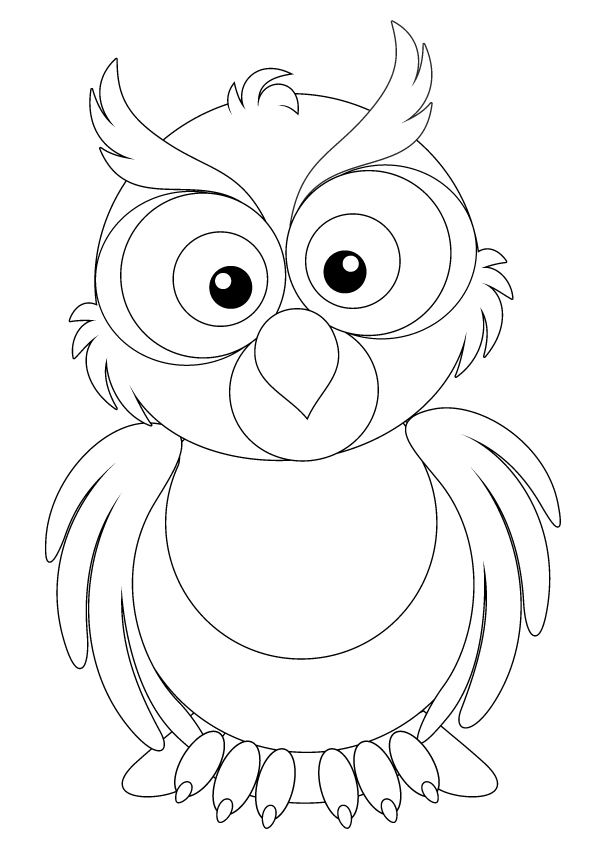 Top 25 Free Printable Owl Coloring Pages Online Owl Coloring