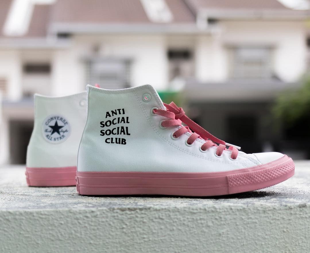 Anti Social Social Club custom Converse Chuck Taylor  f0ee7359e