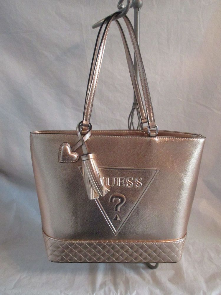 Purse Bag Handbag Guess Tote Color Rose Gold Style Le637123 Group Baldwinpark Totespers