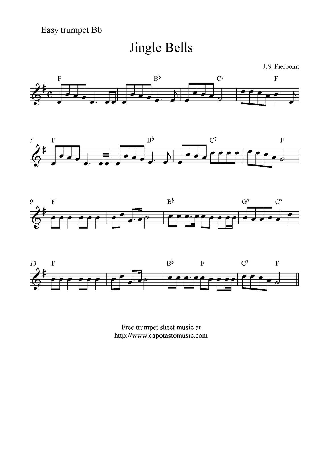 jingle bell rock alto sax pdf