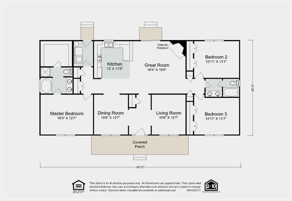 Explore The The Vincent Floor Plan A Custom Ranch Style