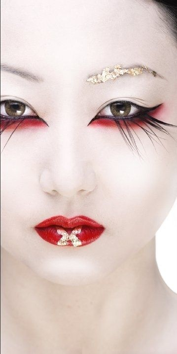 Pin By Elysian Interiors On Zensual Artistry Makeup Geisha Makeup Fantasy Makeup