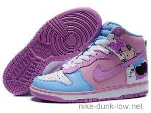 newest 27394 e3c82 Nike SB Dunk High In Baby Blue  Heliotrope  Love love love AND in my