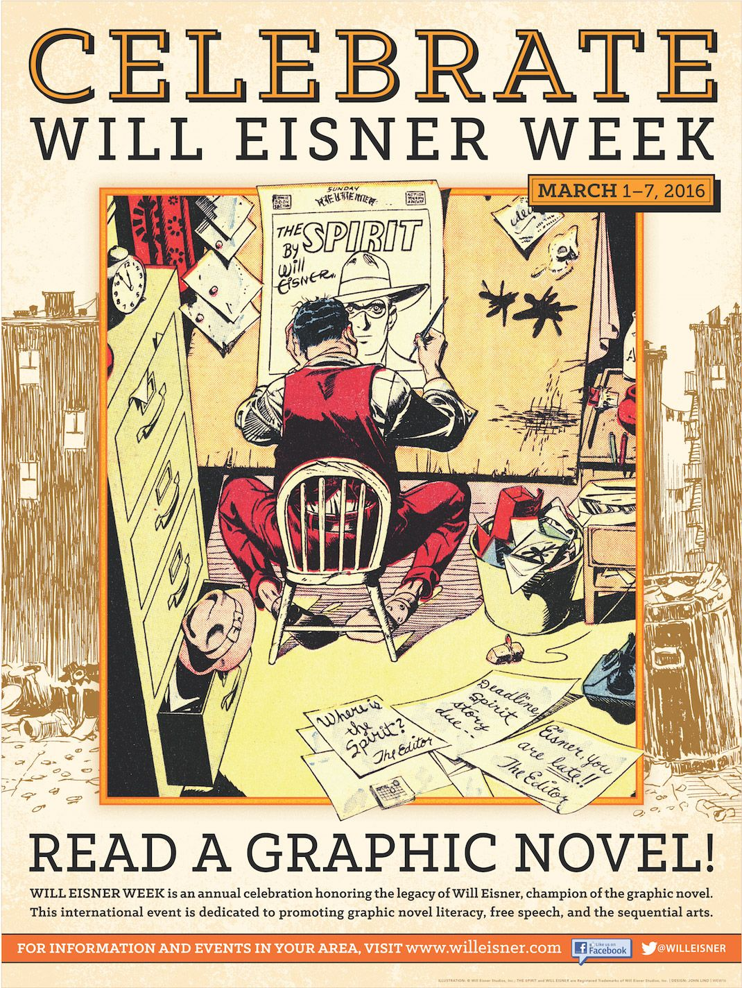 Read a graphic novel during Will Eisner Week.