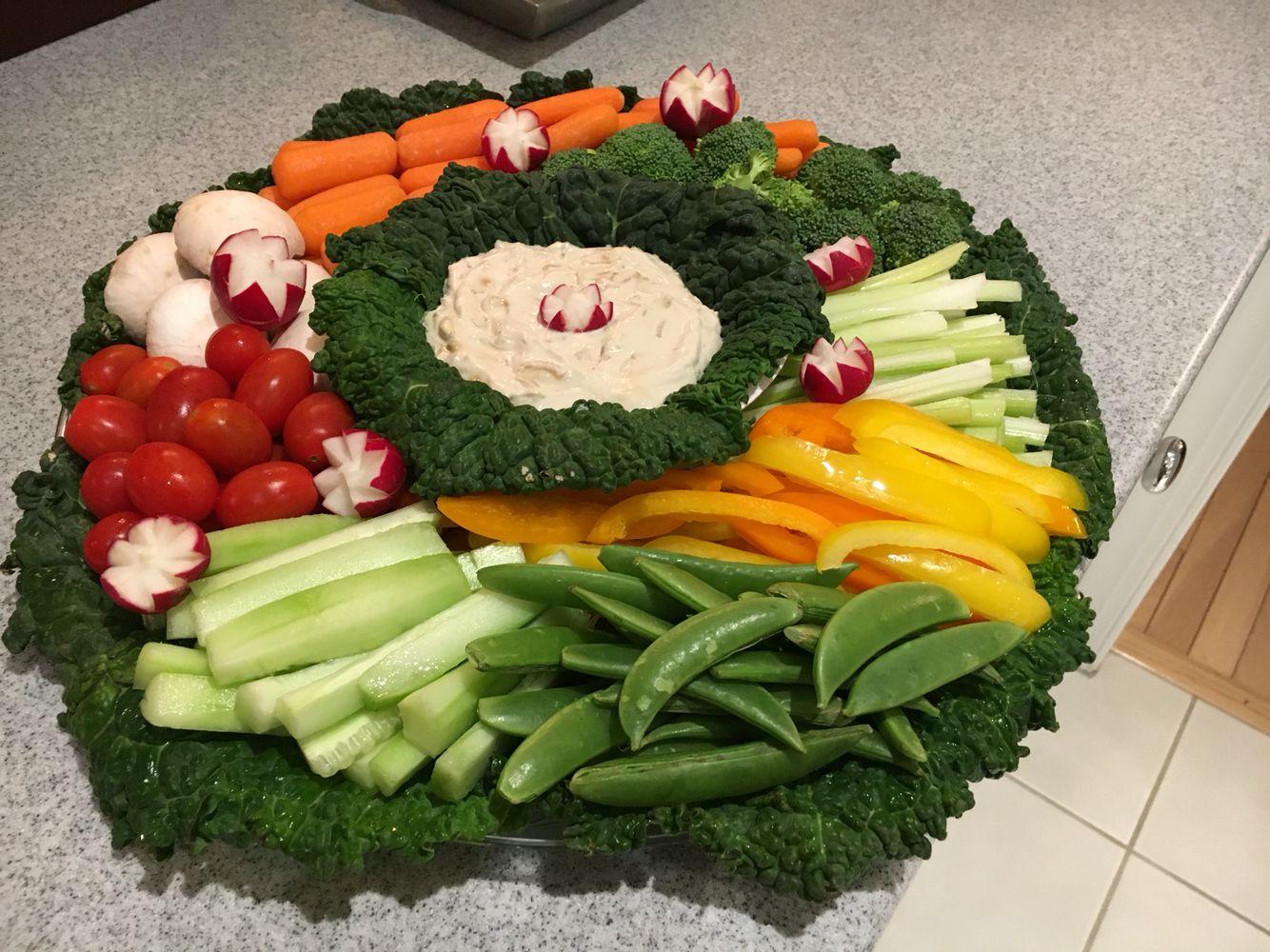 New Year's Eve 2015   Vegetable platter