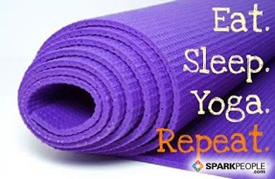 Eat. Sleep. Yoga. Repeat. via @SparkPeople