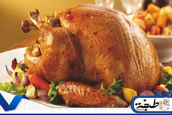 تتبيلة الدجاج المشوي التركي بالزبادي وبالعسل منال العالم موقع طبخة Roasted Turkey Roast Turkey Recipes Turkey Recipes