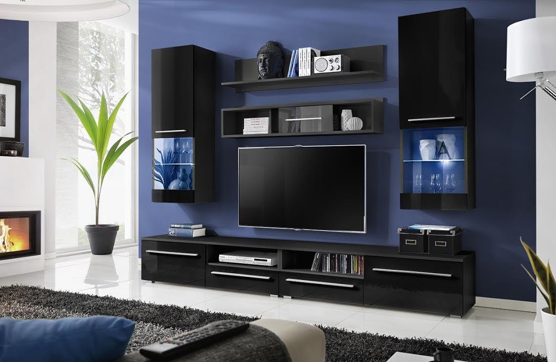 luna night le mariagemeuble tvcouleurconception - Meuble Tv Design Ibiza A Led