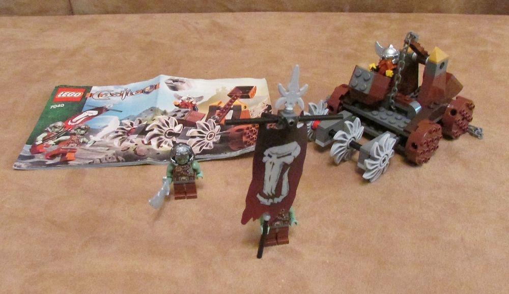 7040 Lego Complete Castle Dwarves Mine Defender Knights Miner