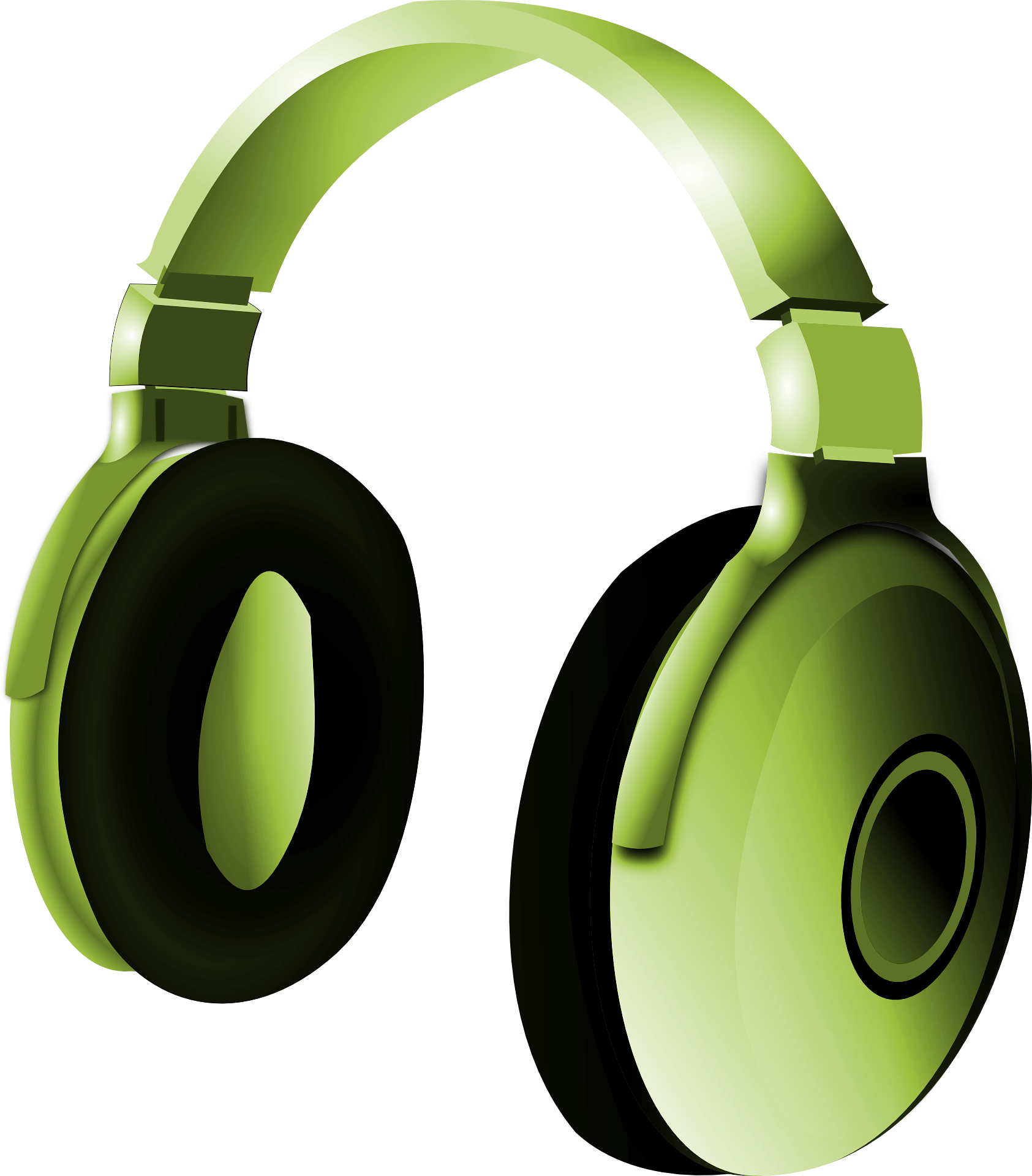 [Freebie] Vector of headphones on transparent background
