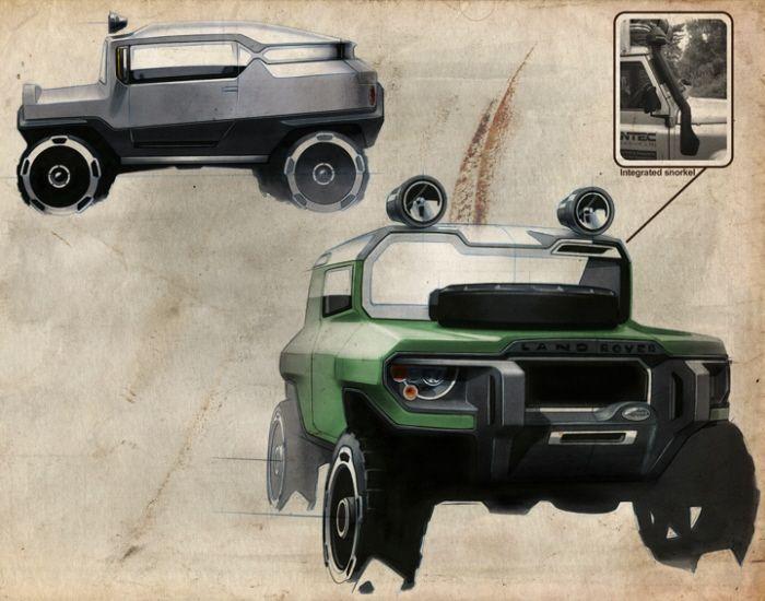 Range Rover D90 By Kort Neumann At Coroflot Com Automotive