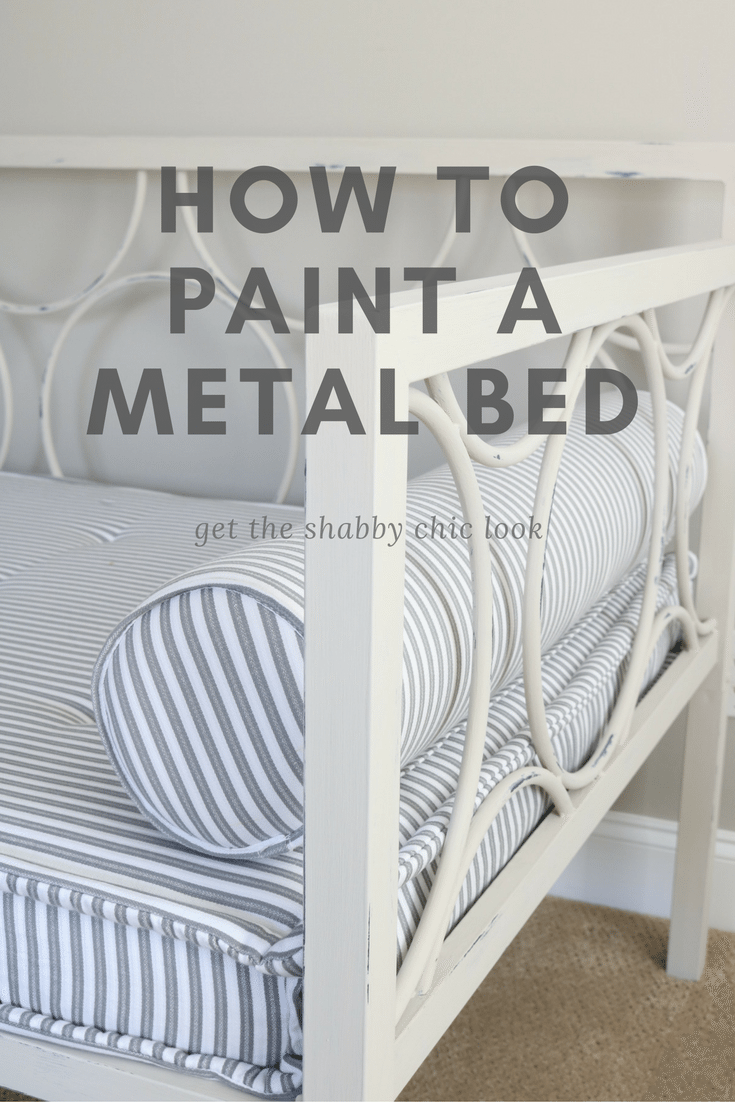 Metal Daybed Makeover | Maison Blanche Paint Company {projects ...