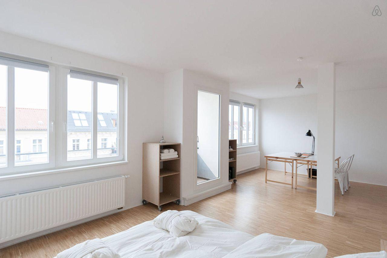 """fasinfrancis: """"Rooftop Minimal Loft in Berlin """""""