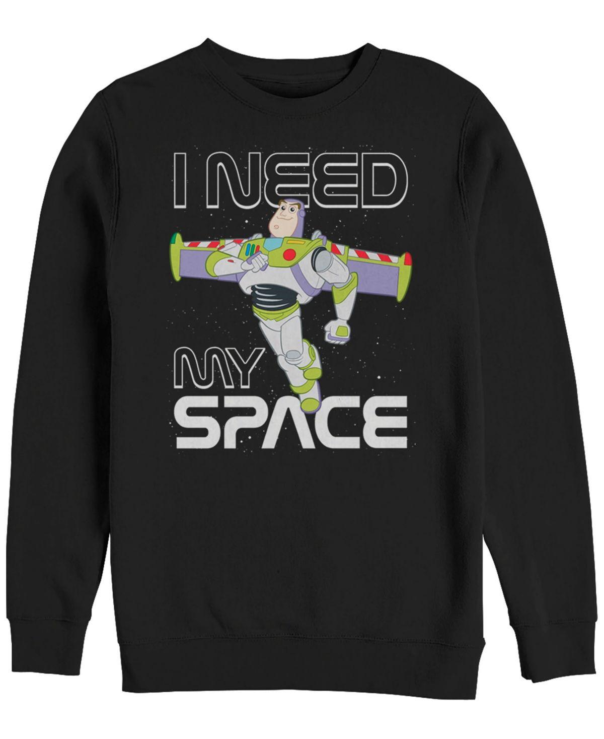 Men/'s Buzz Lightyear Inspired Crewneck Sweatshirt