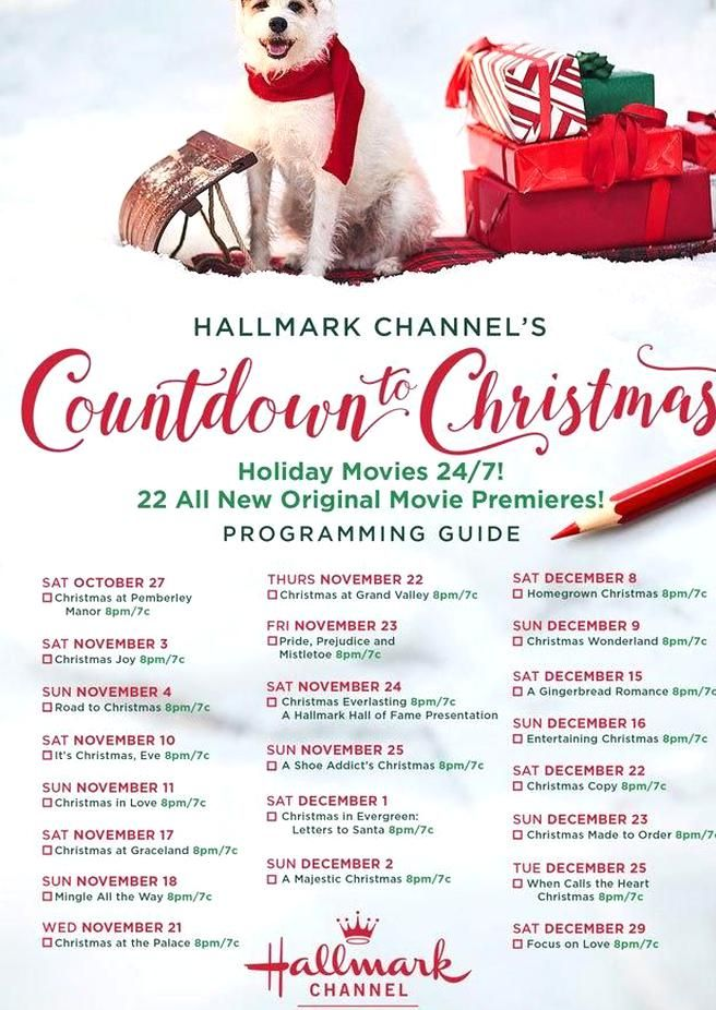 Were already planning our Hallmark movie marathons! in