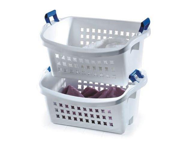 Stackable Laundry Baskets 20 Ways To Organize Your Bedroom Closet  Stackable Laundry Baskets