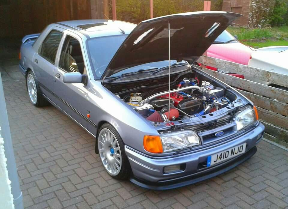 Cossie Power Ford Sierra Car Ford Ford Rs